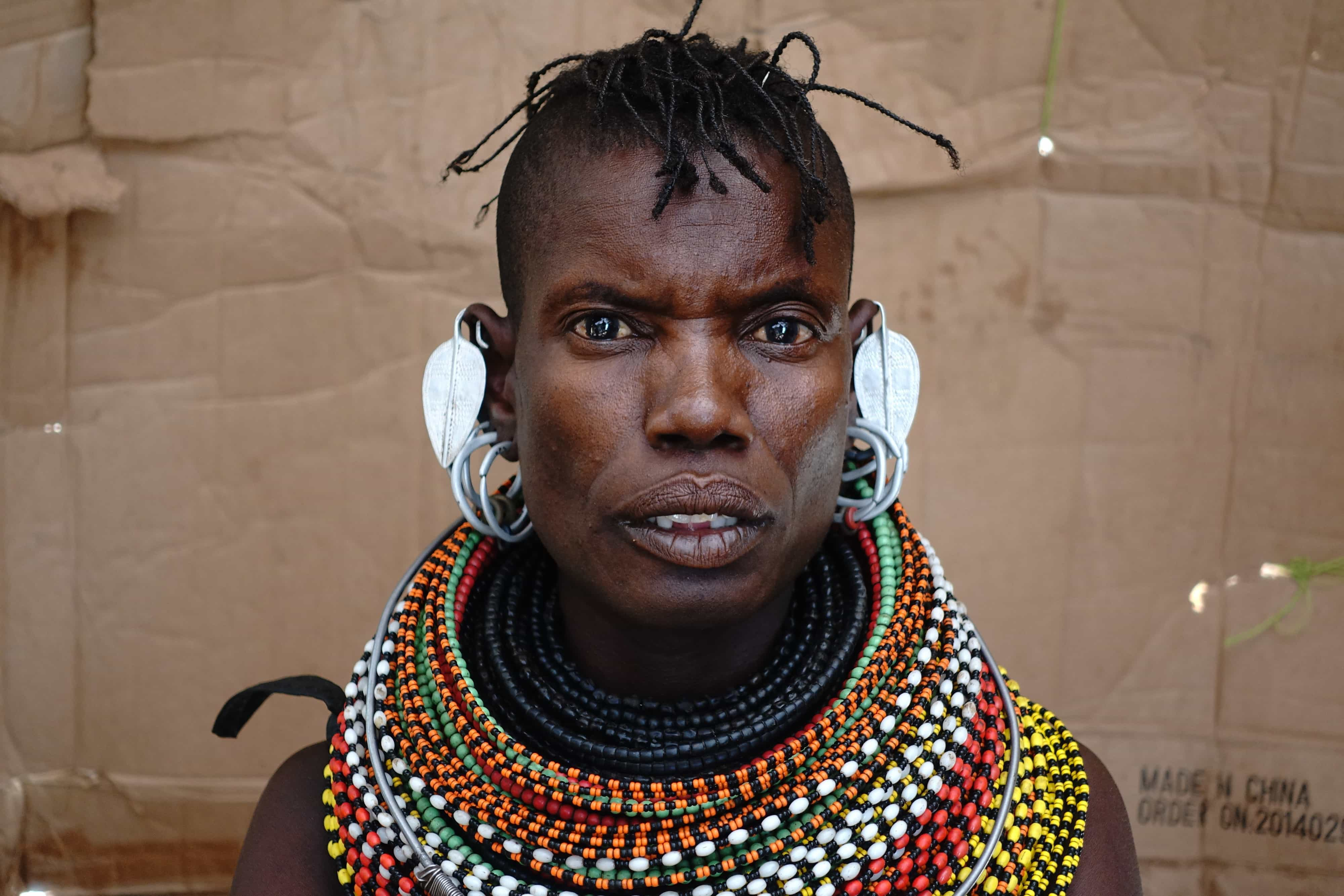 Nongala. Turkana-kvinde i Sarima. Foto: Shafiur Rahman, Danwatch.