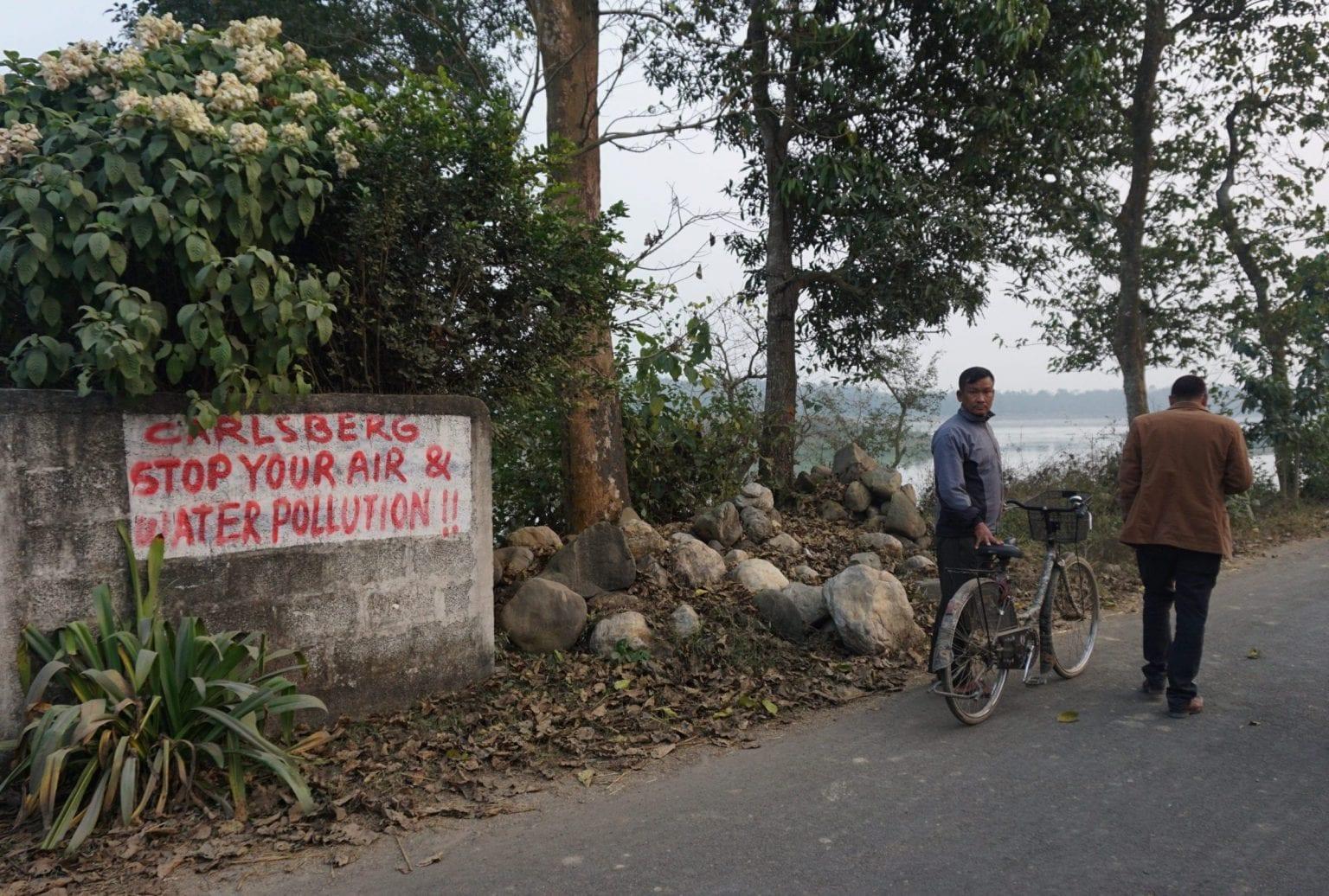 Bryggeriets naboer har i årevis forsøgt at råbe op om forureningen.
