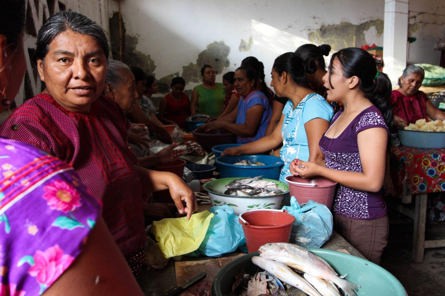 Ifølge ILOs konvention 169, som Mexico har underskrevet, har oprindelige folk har ret til at blive konsulteret før myndighederne giver tilladelse til store byggeprojekter. De har også ret til at forhandle om, hvordan projektet skal gennemføres. Foto: APIITDTT