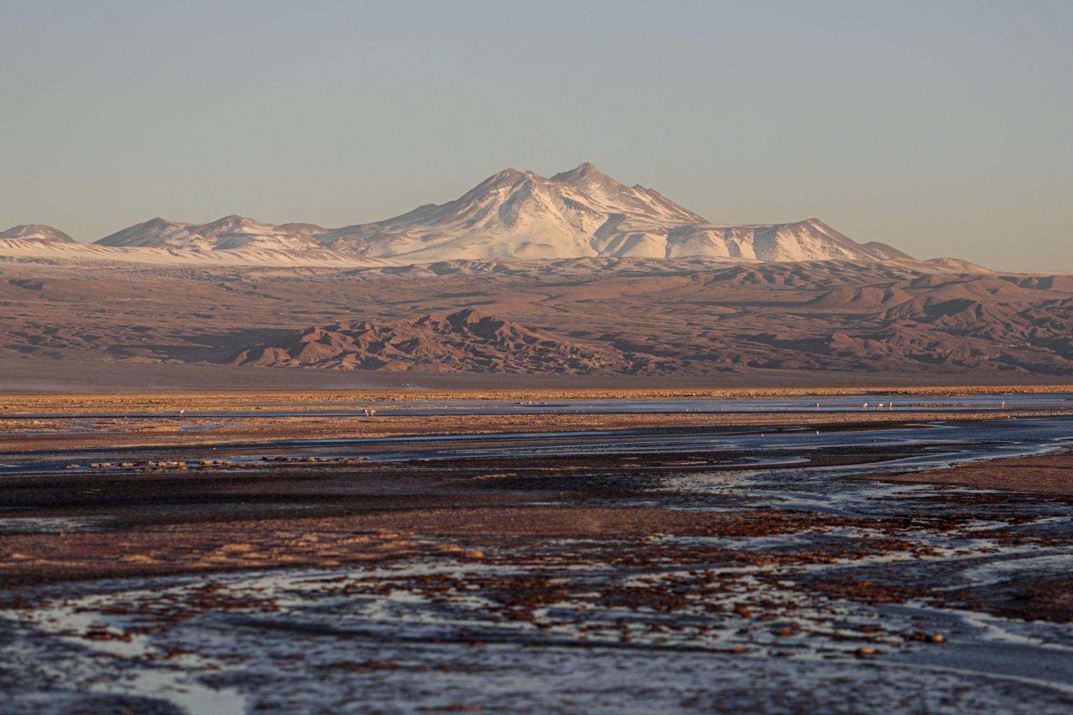 Saltsø i Atacama.