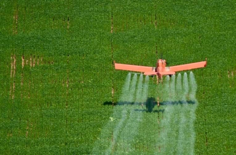 February 24th 2006, Soy farming and spraying near Sinop