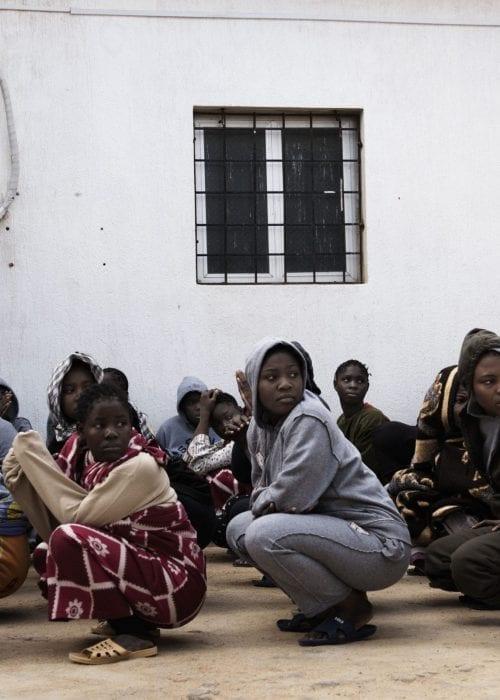 Størstedelen af de afrikanske kvinder, der forsøger at krydse Libyen på vej til Europa, bliver ifølge FN voldtaget på vejen. Foto: UNICEF