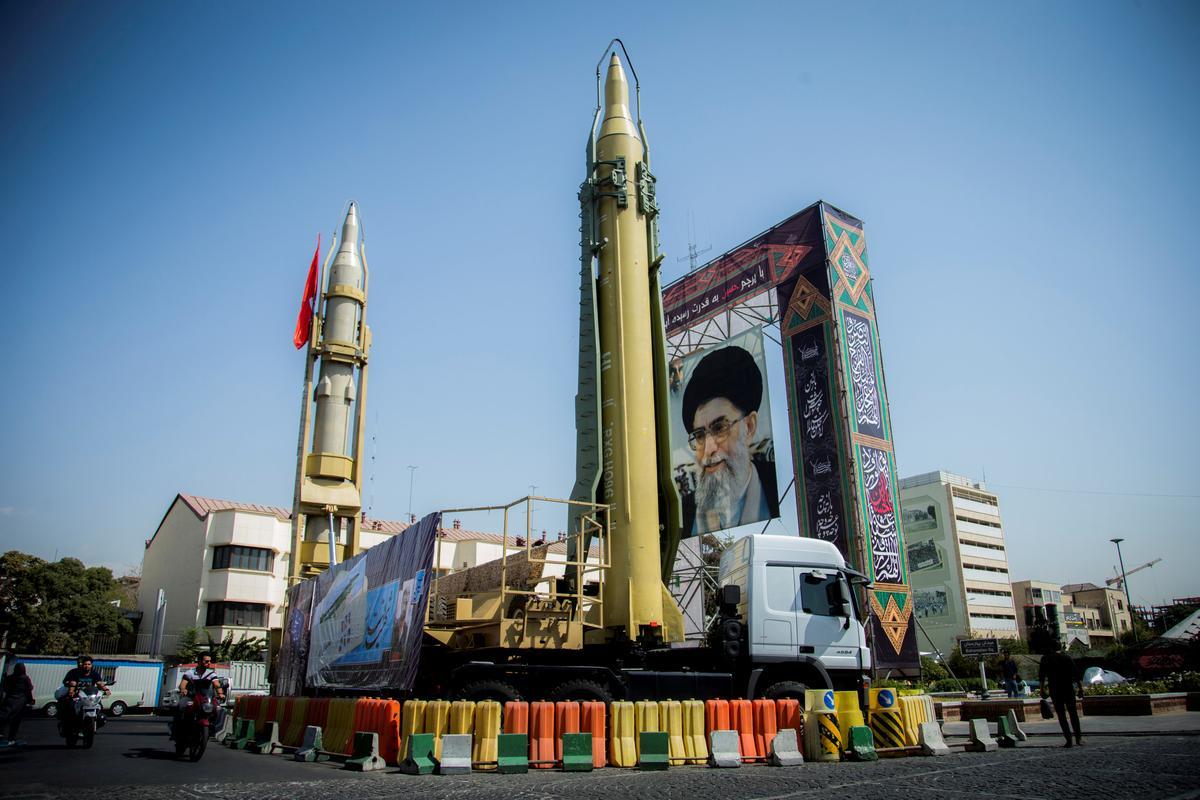 Iran missiles parade