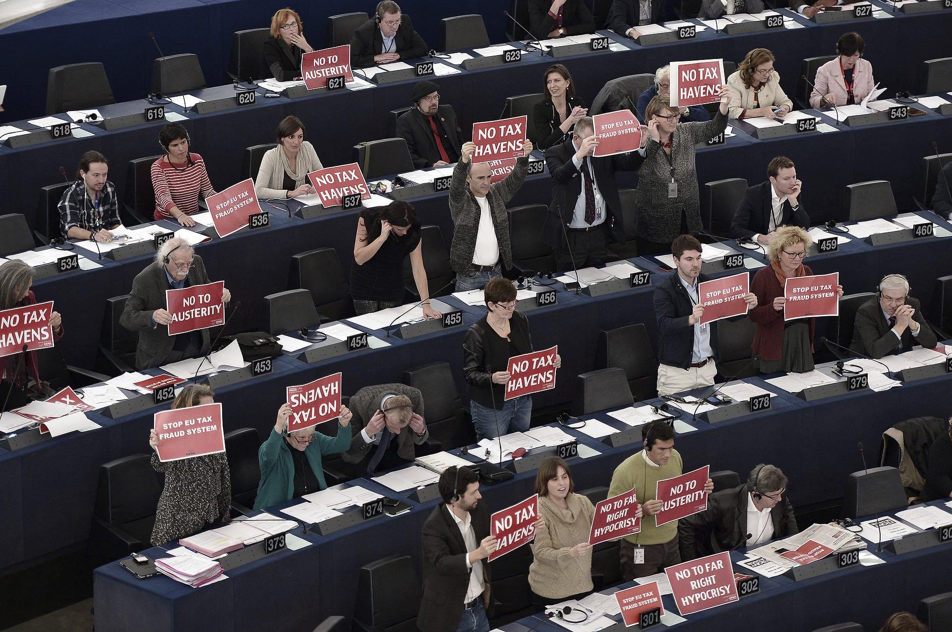 FRANCE-EU-POLITICS-PARLIAMENT-JUNCKER-VOTE