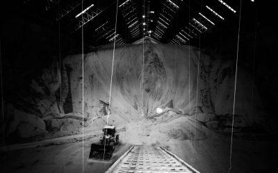 Louis Dreyfus Company er en af de største sojaeksportører Danmark køber sojaen igennem. Her er det en hal på deres faciliteter i San Lorenzo med plads til 300.000 tons soja.